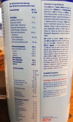 Aptamil Junior 12+ Milupa 800 Gr, 1 Boîte - Informazioni nutrizionali - fr