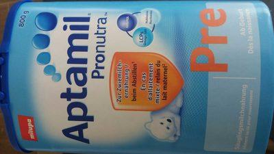Aptamil Pronutra Pre - Product - fr