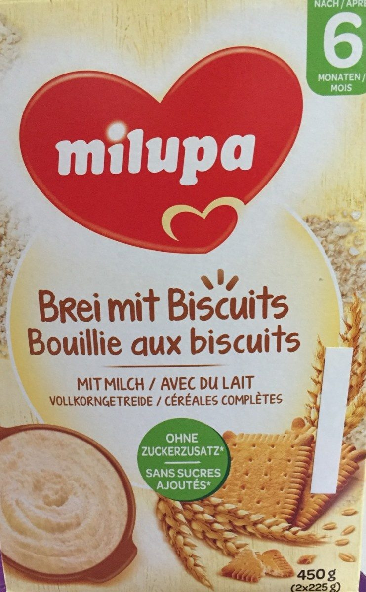 Bouillie aux biscuits - Product - fr