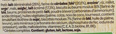 Bouillie aux biscuits - Ingredients - fr