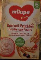 Bouillie aux fruits avec du lait - Product - fr