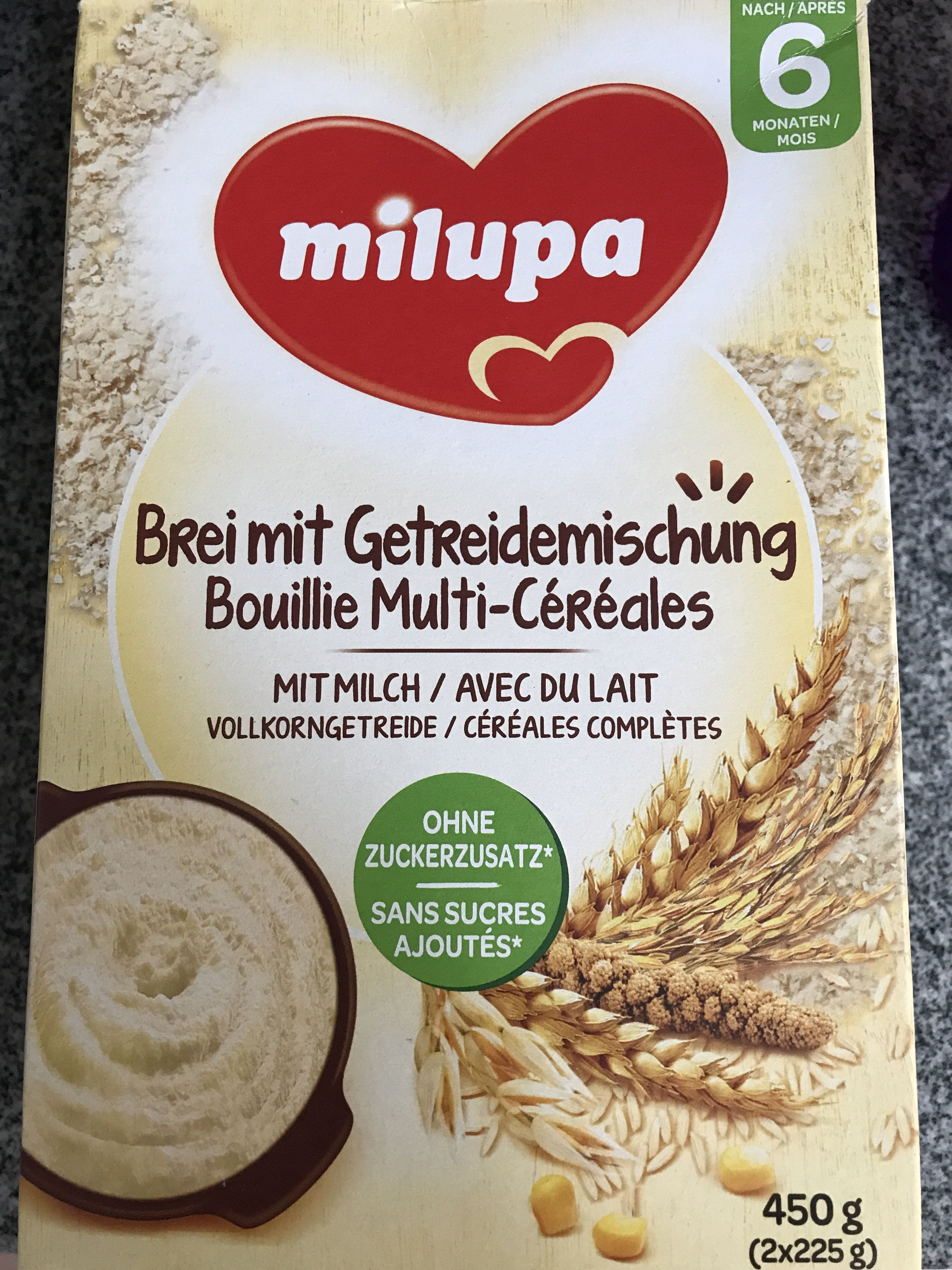 Bouillie multi-cereales - Product - fr