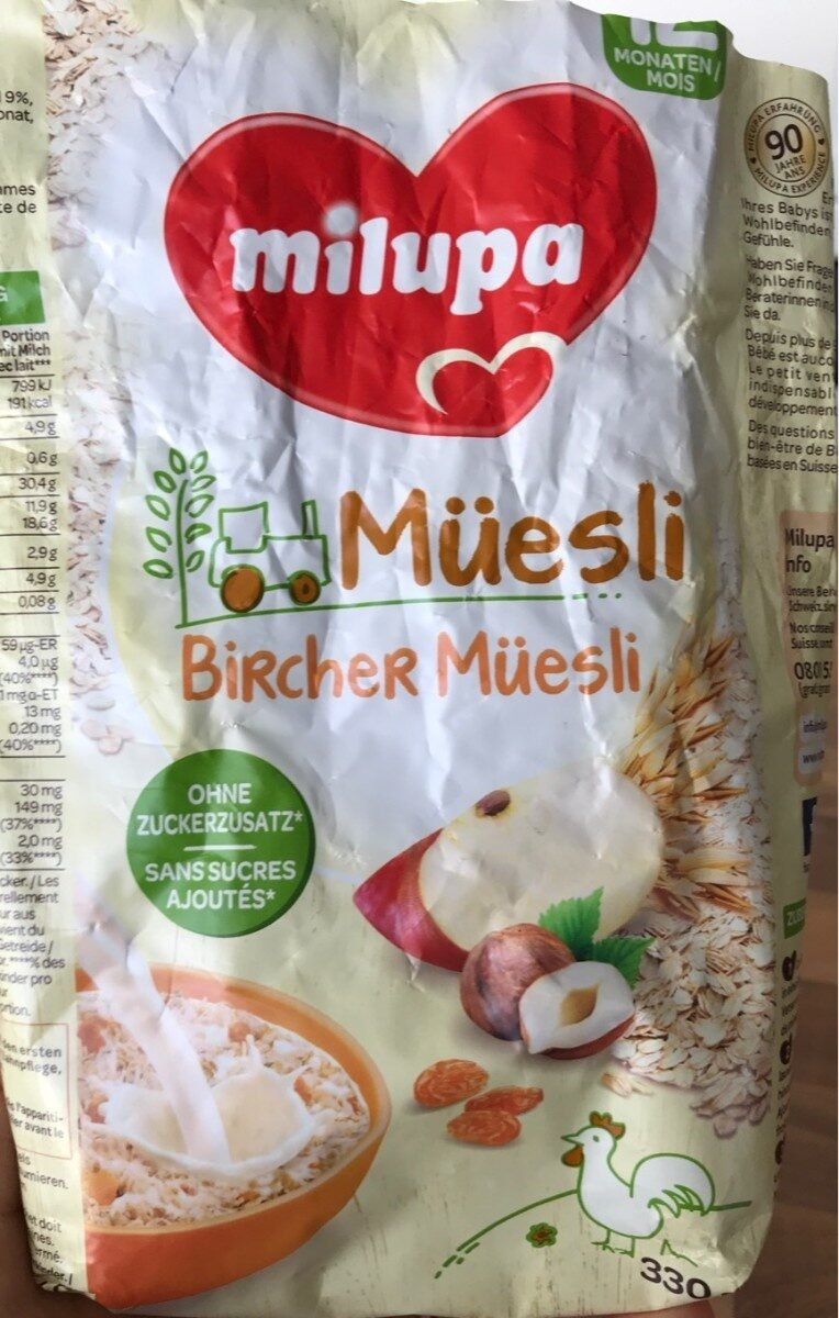 Bircher Müesli - Product - fr
