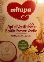 Bouillie pomme vanille - Product - en