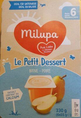 Le petit dessert - Product