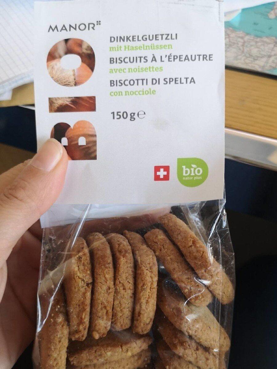 Biscuit a l épeautre - Product