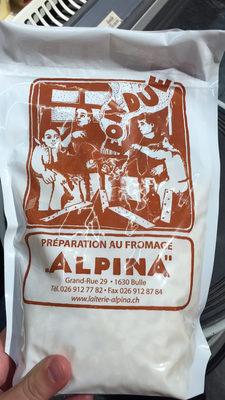 FONDUE PRÉPARATION AU FROMAGE ALPINA - 1