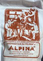 FONDUE PRÉPARATION AU FROMAGE ALPINA - Product
