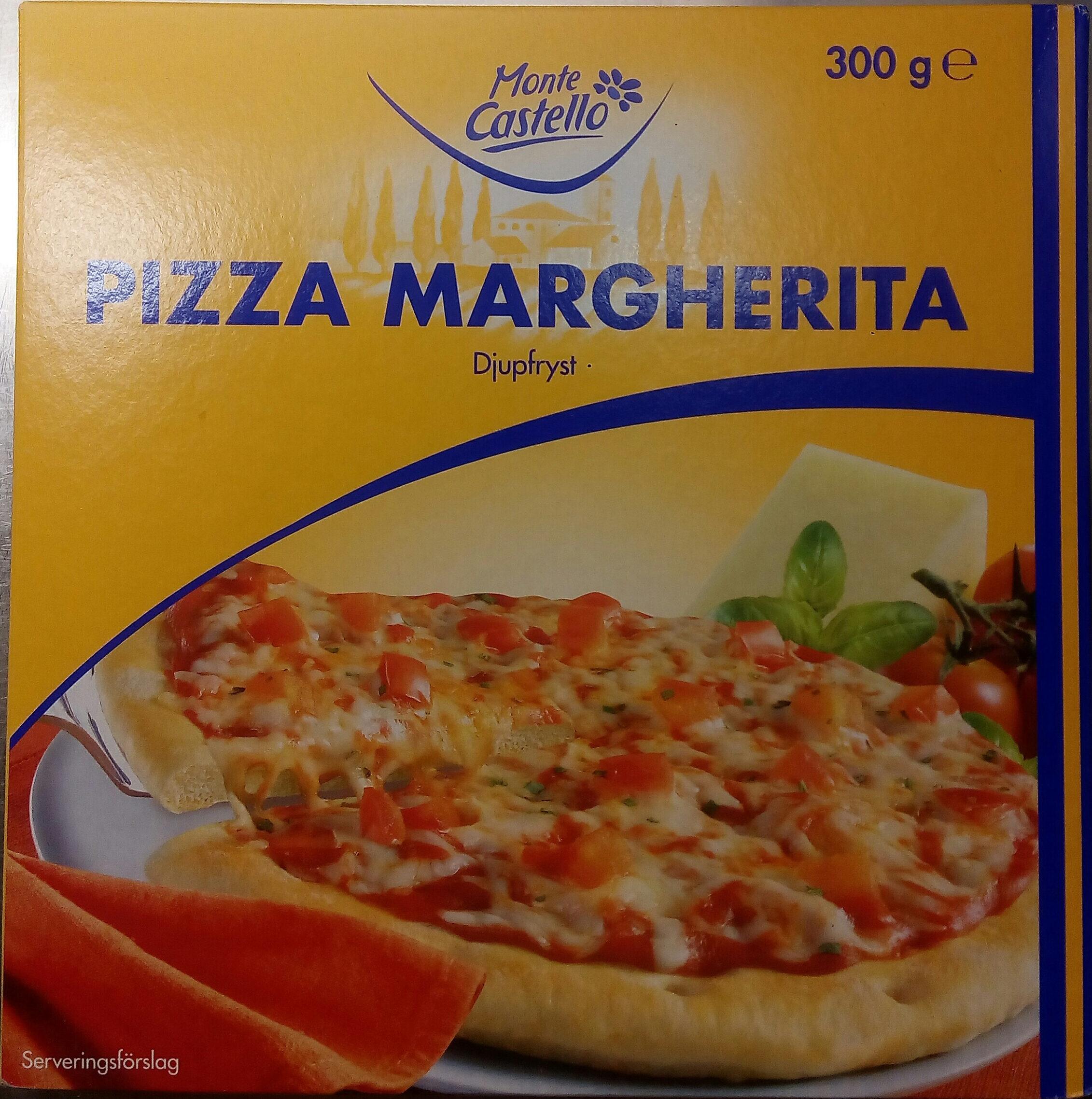Monte Castello Pizza Margherita - Produit - sv