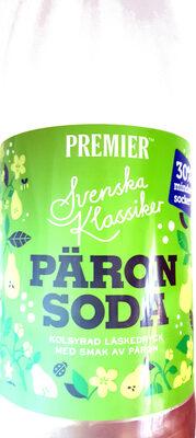 Päron Soda - Product - sv