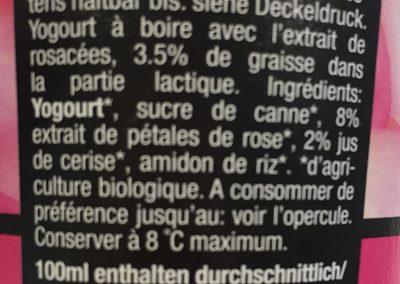 Biolassi, Rosenblüten - Ingrediënten
