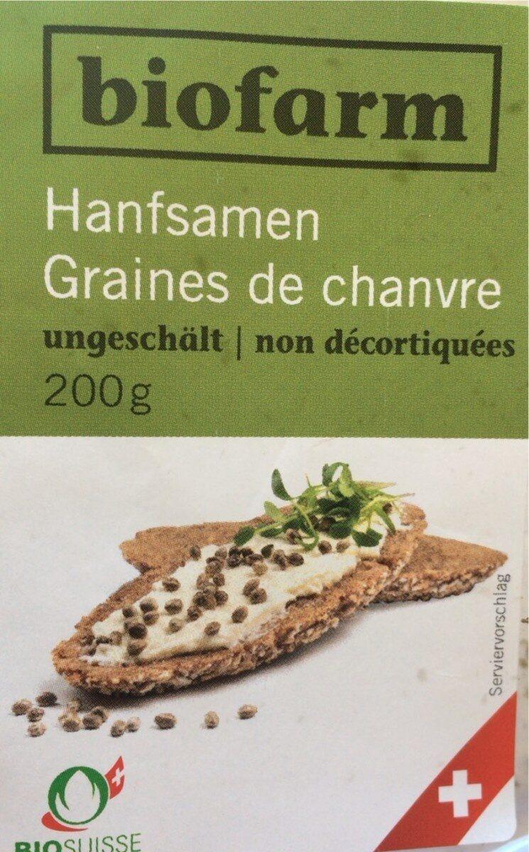 Grains de chanvre non décortiquées - Prodotto - fr