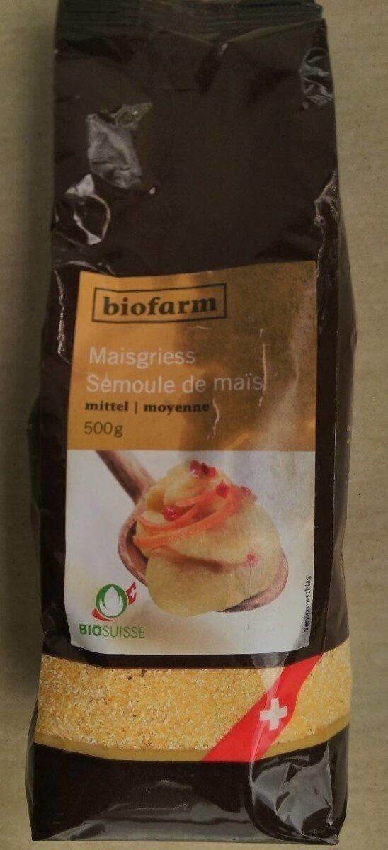 Semoule de maïs moyenne - Produit - fr