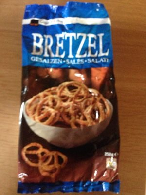 Bretzels Salés - Produit - fr