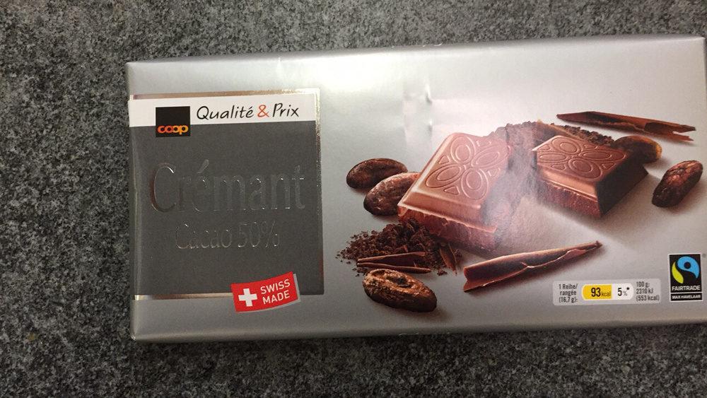 Qualit prix cr mant cacao 50 coop 100 g for Cuisine qualite prix