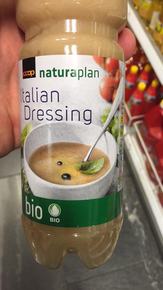 Bio Naturaplan Italian Dressing Sauce à Salade - Produit - fr