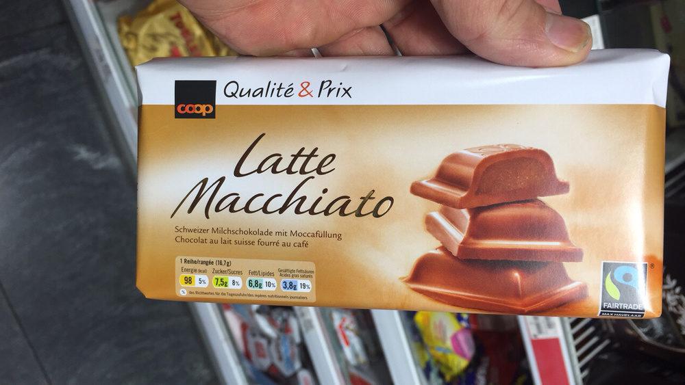 Latte Macchiato (Cioccolate) - Product