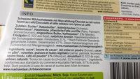 Latte Macchiato (Cioccolate) - Ingredients