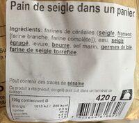 Pain de seigle - Product