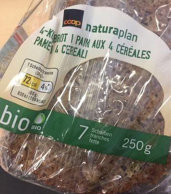 Pain aux 4 céréales - Product