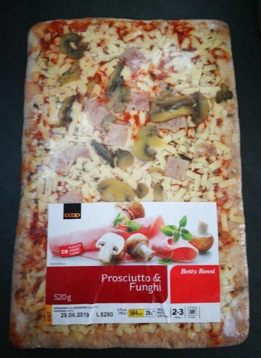 Pizza prosciutto & funghi - Prodotto - fr