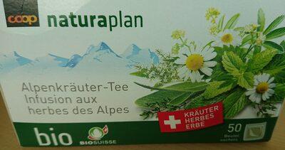 Infusion aux herbes des Alpes bio - Product