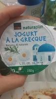Jogurt à la grecque Nature - Product