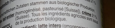 Jogurt à la grecque Nature - Ingredients