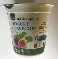 Jogurt À La Grecque Figue - Product