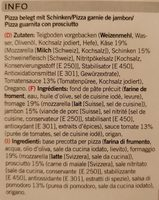 Prosciutto - Ingredienti - fr