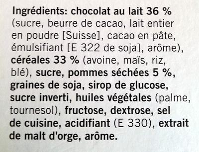 soft snack - Ingrediënten - fr