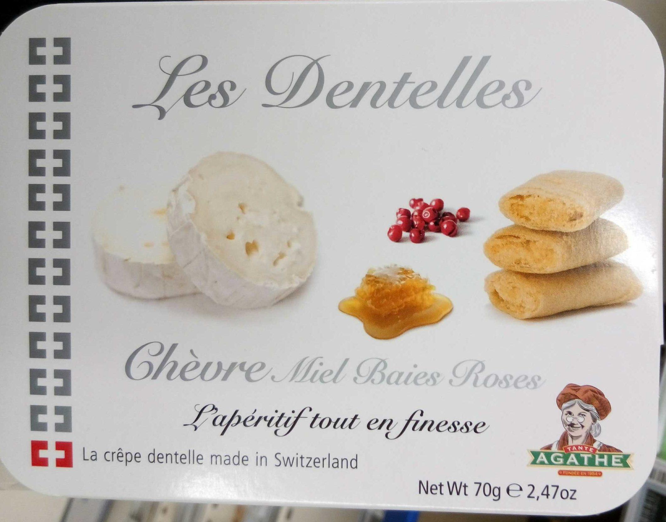 Les Dentelles Chèvre Miel Baies Roses - Product - fr