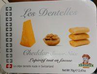 Les Dentelles Cheddar saveur noix - Produit - fr