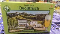 Quöllfrisch hopfig herb Appenzeller Bier - Produit - fr