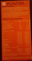 Ovomaltine 10X15G - Ingredients