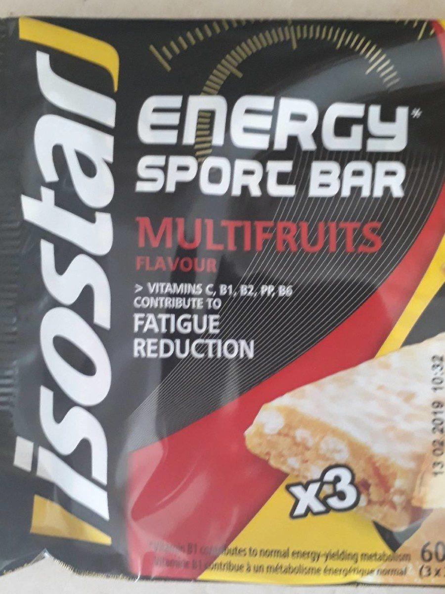 Energy sport bar - Product