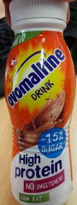 Ovomaltine drink high protein - Product