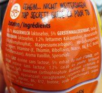 Ovomaltine drink high protein - Ingredients