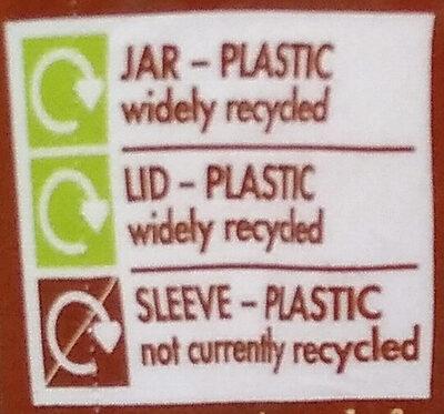 Ovaltine, chocolate, light - Instruction de recyclage et/ou information d'emballage - en