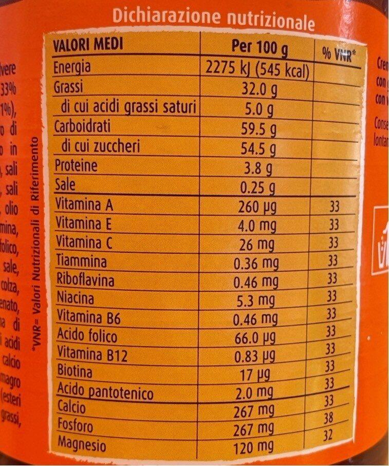 crunchy cream - Informations nutritionnelles - it