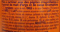 Crunchy - Ingredients - fr