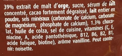 Ovomaltine Choco - Ingredienti - fr