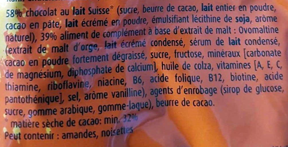 Ovo Rocks - Ingredienti - fr