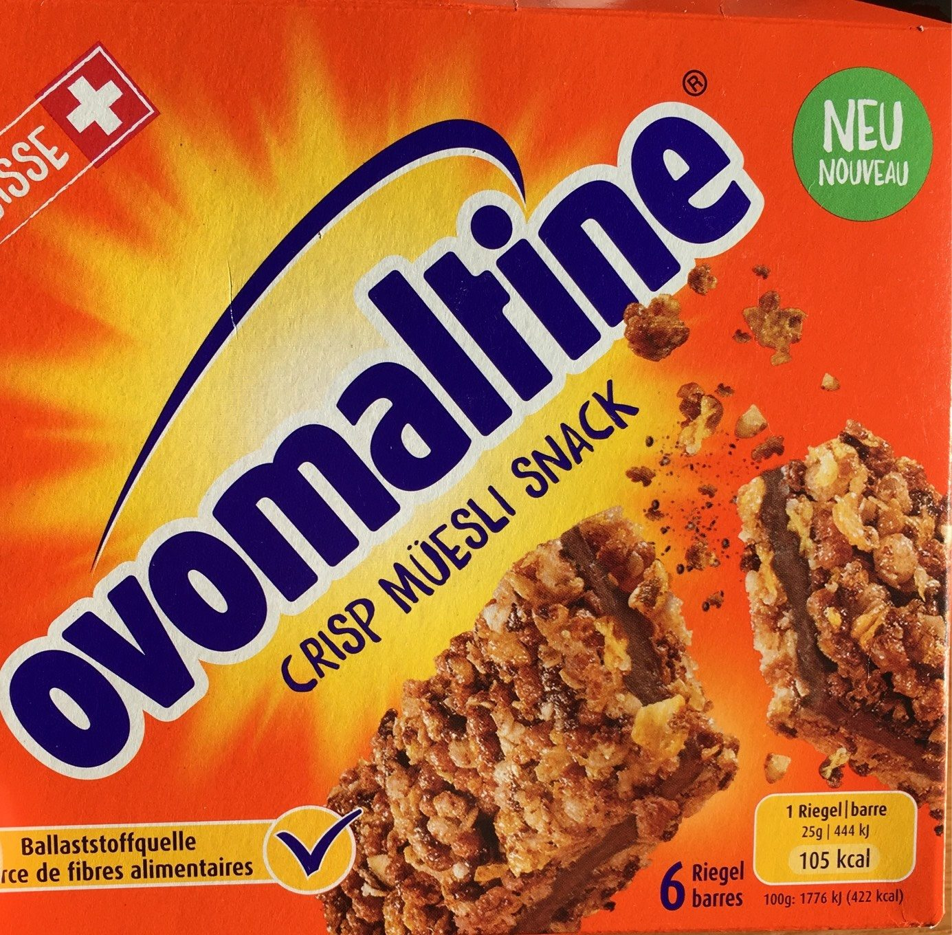Crisp muesli snack - Product