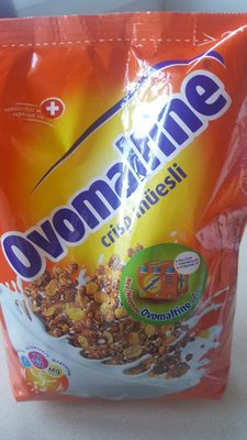 Crisp Müesli Ovomaltine, Ovo - Product