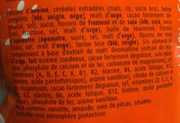 Muesli Croustilant - Ingrédients - fr