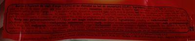Ovomaltine Barres - Ingrediënten - fr