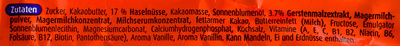 Ovolino - Ingredients