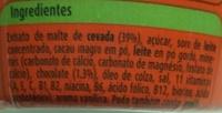 Ovomaltine - Ingredients