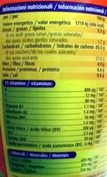 Ovomaltine - Nutrition facts